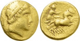 KINGS OF MACEDON. Philip II (359-336 BC). GOLD Stater. Contemporary imitation.