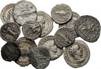 Lot Ancient (14) Consisting of silver Denarii and Antoniniani. On average Fine to nearly Very fine