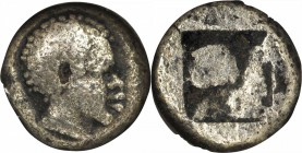 LESBOS. BI 1/12 Stater (0.87 gms), ca. 550-450 B.C. NGC Ch F, Strike: 5/5 Surface: 3/5.