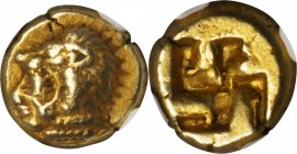 IONIA. Erythrai. EL Hekte (2.56 gms), ca. 550-500 B.C. NGC Ch VF, Strike: 4/5 Surface: 4/5.