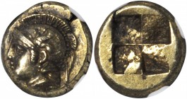 IONIA. Phocaea. EL Hekte (2.57 gms), ca. 477-388 B.C. NGC Ch AU, Strike: 4/5 Surface: 4/5.