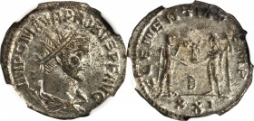PROBUS, A.D. 276-282. BI Aurelianianus (3.43 gms), Antioch Mint, ND. NGC MS, Strike: 5/5 Surface: 4/5. Silvering.