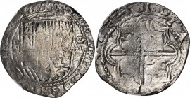 BOLIVIA. 8 Reales, ND (1574-86)-P B. Potosi Mint. Philip II. NGC FINE-15.