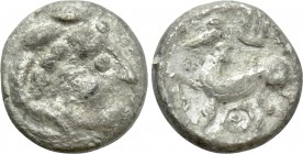 EASTERN EUROPE. Imitations of Philip II of Macedon (2nd-1st centuries BC). Obol.