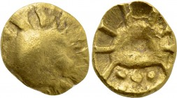 CENTRAL EUROPE. Boii. GOLD 1/8 Stater (2nd-1st centuries BC).