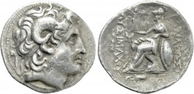 KINGS OF THRACE (Macedonian). Lysimachos (305-281 BC). Tetradrachm. Kios.
