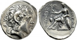 KINGS OF THRACE (Macedonian). Lysimachos (305-281 BC). Tetradrachm. Kyzikos.