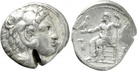 KINGS OF MACEDON. Alexander III 'the Great' (336-323 BC). Tetradrachm. Amphipolis. Lifetime issue.