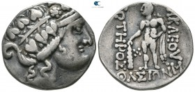 Eastern Europe. Imitation of Thasos 75 BC. Tetradrachm AR