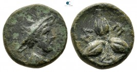 Lucania. Metapontion circa 300-250 BC. Bronze Æ