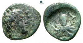 Sicily. Syracuse. Second Democracy 466-405 BC. Onkia Æ