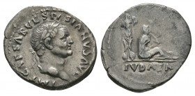 Ancient Roman Imperial Coins - Vespasian - Judaea Denarius
