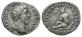 Ancient Roman Imperial Coins - Marcus Aurelius - Armenia Denarius