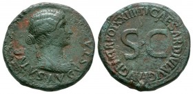 Ancient Roman Imperial Coins - Livia - Salus Dupondius