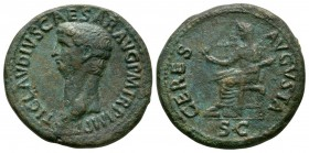 Ancient Roman Imperial Coins - Claudius - Ceres Dupondius