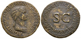 Ancient Roman Imperial Coins - Agrippina Senior (under Claudius) - SC Sestertius