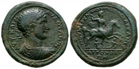 Ancient Roman Imperial Coins - Caracalla - Attuda, Caria - Emperor Riding Medallion