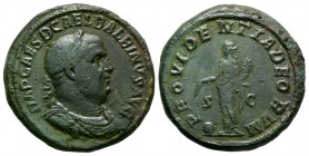 Ancient Roman Imperial Coins - Balbinus - Providentia Sestertius
