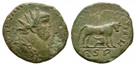Ancient Roman Imperial Coins - Carausius - Cow Antoninianus