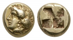 Ancient Greek Coins - Ionia - Phokaia - Portrait Electrum Hekte