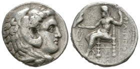 Ancient Greek Coins - Macedonia - Philip III - Zeus Tetradrachm