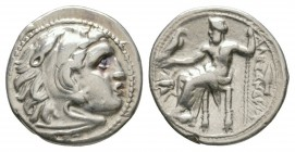 Ancient Greek Coins - Macedonia - Alexander III (the Great) - Zeus Drachm