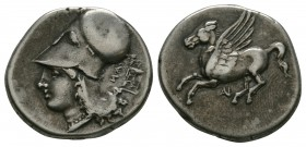 Ancient Greek Coins - Corinth Colonies - Anaktorion - Pegasos Stater