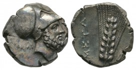 Ancient Greek Coins - Lucania - Metapontum - Leukippus Nomos
