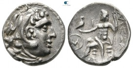 The Galatians. Imitating a Drachm of Alexander III from Magnesia after 286 BC. Drachm AR
