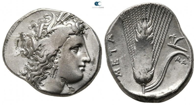 Lucania. Metapontion circa 330-290 BC. 