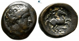Kings of Macedon. Uncertain mint in Macedon. Philip II of Macedon 359-336 BC. Unit Æ