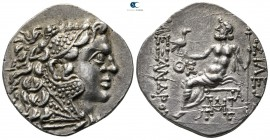 Thrace. Odessos 120-90 BC. In the name and types of Alexander III of Macedon. Tetradrachm AR