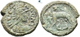 The Ostrogoths.  AD 526-534. Follis Æ