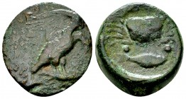 Akragas AE Hexas, before 406 BC 