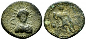 Leontinoi AE22, c. 210-200 BC 