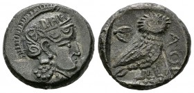 Sophytes AR Drachm, imitating Athens 