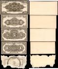 CHINA--REPUBLIC. Mixed Banks. 1 to 50 Dollars, 1917. P-Various. Archival Proofs. Uncirculated.