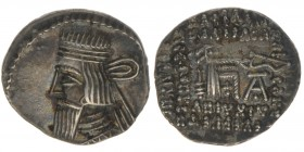PARTHER Vologaseses I. 57-61 AC  Drachme Kress 117/338, 3,87 Gramm, -vz