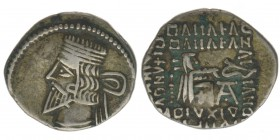 PARTHER Vologases III. 105-147 AC  Drachme 3,65 Gramm, ss+