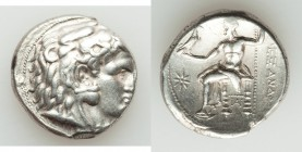MACEDONIAN KINGDOM. Alexander III the Great (336-323 BC). AR tetradrachm (26mm, 17.02 g, 7h). XF. Sardes, under Antigonus I Monophthalmus, ca. 318-315...