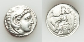 MACEDONIAN KINGDOM. Alexander III the Great (336-323 BC). AR tetradrachm (24mm, 17.15 gm, 3h). VF. Posthumous issue of 'Amphipolis', ca. 320-317 BC. H...