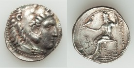 MACEDONIAN KINGDOM. Alexander III the Great (336-323 BC). AR tetradrachm (27mm, 16.78 gm, 2h). VF, die shift. Antigonos I Monophthalmos. As Strategos ...