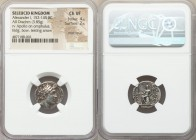 SELEUCID KINGDOM. Alexander I Balas (152-145 BC). AR drachm (3.85 gm, 12h). NGC Choice VF 4/5 - 2/5, edge repair. Antioch on the Orontes, undated with...