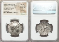 SELEUCID KINGDOM. Demetrius II Nicator, first reign (146/5-138 BC). AR tetradrachm (29mm, 16.21 gm, 1h). NGC Choice AU 5/5 - 3/5, brushed. Antioch, da...