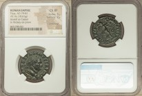 Titus, as Caesar (AD 79-81). AE as (26mm, 10.61 gm, 5h). NGC Choice XF 5/5 - 2/5, smoothing. AD 73, Rome. T CAES VESPASIAN IMP P TR P COS II, laureate...