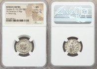 Gordian III (AD 238-244). AR denarius (2.36 gm, 12h). NGC MS 5/5 - 4/5. Rome, summer AD 241. IMP GORDIANVS PIVS FEL AVG, laureate, draped and cuirasse...