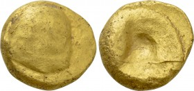 "CENTRAL EUROPE. Boii. GOLD Stater (2nd-1st centuries BC). ""Muschel"" prototype."