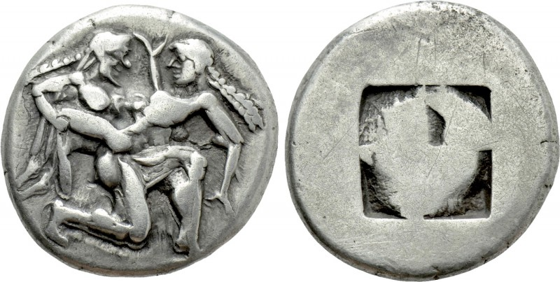 THRACE. Thasos. Stater (Circa 500-480 BC). 