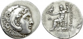KINGS OF MACEDON. Alexander III 'the Great' (336-323 BC). Tetradrachm. Phaselis. Dated CY 7 (215/4 BC).