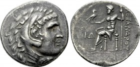 KINGS OF MACEDON. Alexander III 'the Great' (336-323 BC). Tetradrachm. Perge. Dated CY 24 (198/7 BC).